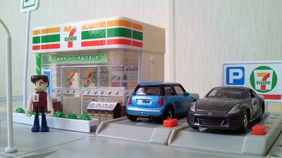 セブンイレブンと自動車保険